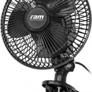 RAM ventilator 20W zwenkend