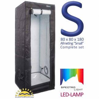wiet kweken met LED lamp