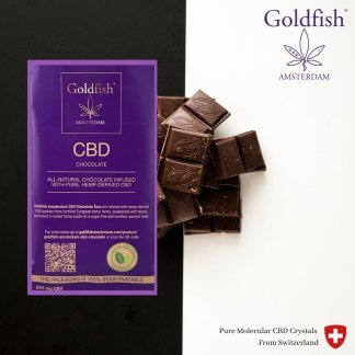 cbd chocolate goldfish amsterdam