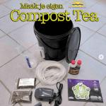 Plaatje Compost Tea set